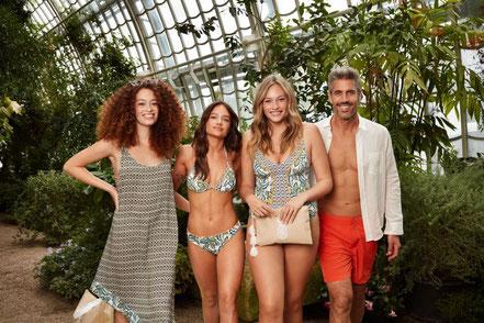 MAG Lifestyle Magazin Mode Sommermode Strand Strandmode Palmers Beachwear Damen Herren Badeanzüge Bikinis Badehosen Badesaison 2020