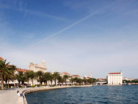 MAG Lifestyle Magazin Urlaub Reisen Kroatien Split Hafenstadt Dalmatien Altstadt Diokletianpalast Hafen