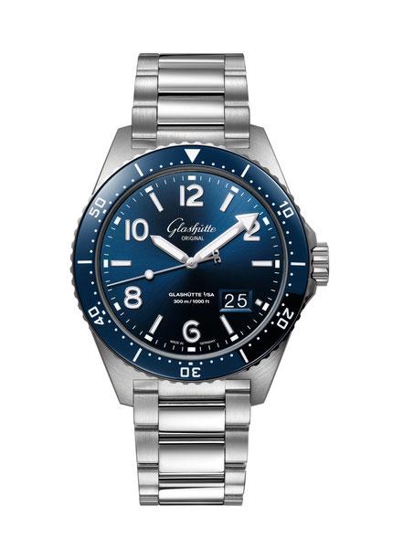 MAG Lifestyle Magazin online Uhren Glashütte Original SeaQ Taucheruhr  Armbanduhr Spezialist sicheres Taucherlebnis