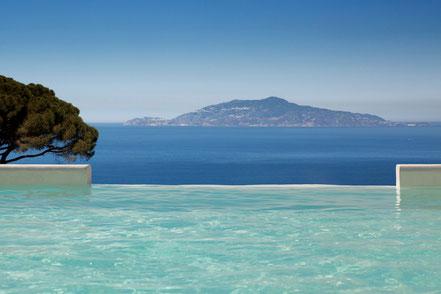 MAG Lifestyle Magazin Urlaub Reisen Italien Hotels Capri Palace Luxushotel Jumeirah Group Palazzo 18.Jahrhundert Restaurant Michelin Sterne