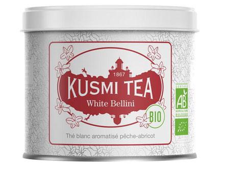 MAG Lifestyle Magazin Bio eleganter Tee Kusmi Tea White Bellini bio