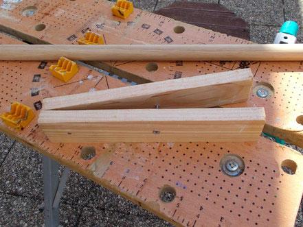 Comment fabriquer un cheval de bois : fabrication de la tête du cheval de bois Beau Prince