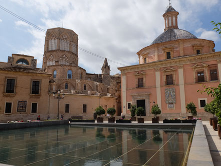 Almoina Basilika Kathedrale Valencia Altstadt