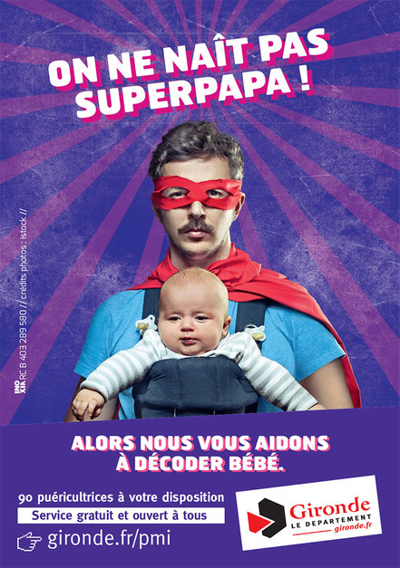 On ne naît pas superpapa