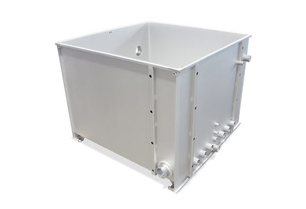 Stemar Behälter 0,8 ccm  / V2A