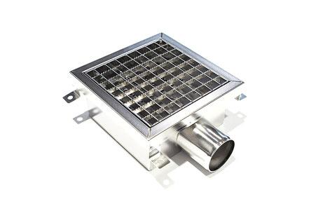 Stemar System 2000, Edelstahl, Abwassertechnik