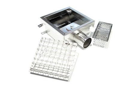 Schmützkorb mit Zubehör, Entwässrrungssysteme, System 2000, Stemar Gruppe