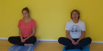 #inspiriencer  in Meditaion Julia und Piero