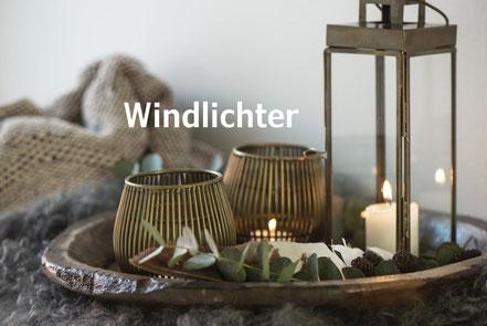 Laternen und Windlichter für Weihnachten