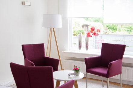 Die Praxisräume der Familienberatung Petra Kölln in Soltau
