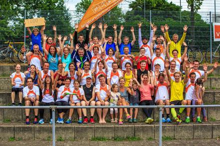 das Team Leistungsdiagnostik.de beim 24 Stunden Lauf