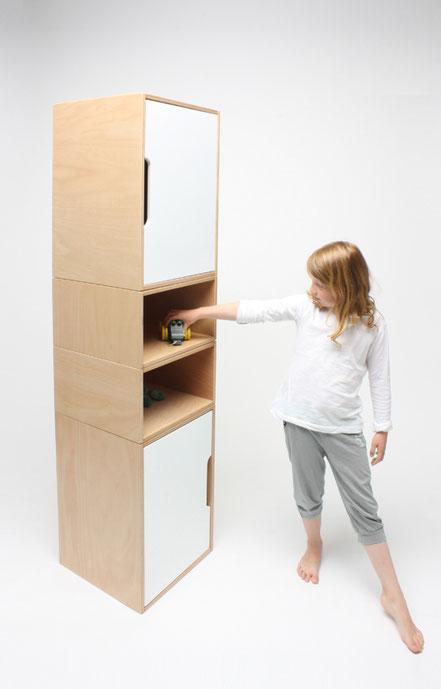 KINDGERECHT-modularer Designer Spielschrank