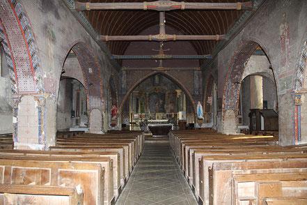 Vue de la nef et du chœur