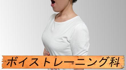 声の仕組みがわかると楽しさが倍増!ボイストレーニング科。
