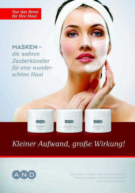 Kosmetik Masken A.N.D. skincare