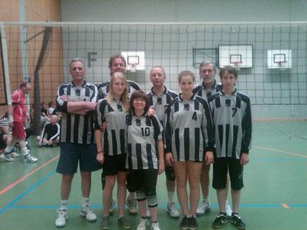 Volleyballmannschaft TV Schluttenbach