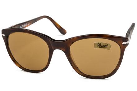 Occhiali da sole vintage Persol Ratti Modello: 69238 Colore: 94 tartarugato scuro. Colore lenti: marrone. Prezzo € 185,00. Spedizione gratis. Made in Italy.