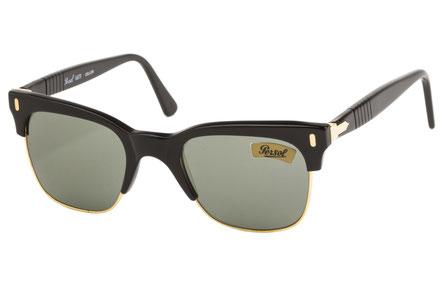Occhiali vintage Persol Ratti Modello: Cellor. Colore: Nero. Colore lenti: verde. Prezzo € 255,00 spedizione gratis. Protezione raggi UV: 100% Made in Italy