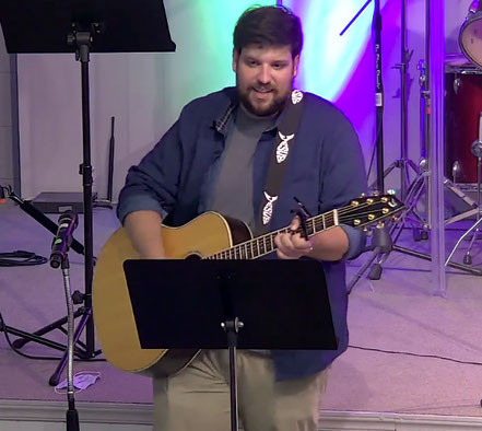 Contemporary worship music at our church in Cape May, NJ