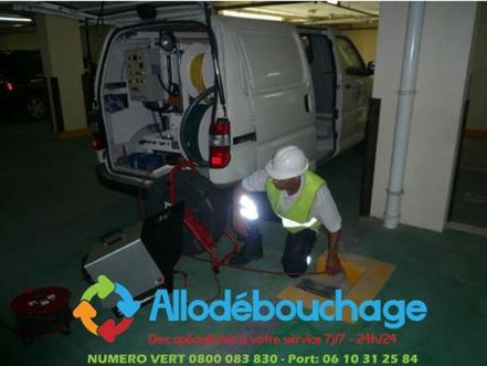 debouchage Inspection video canalisation 34 Herault