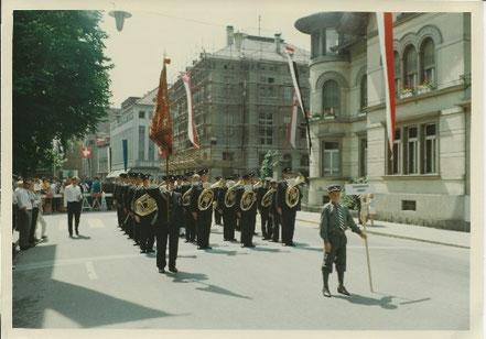 Eidgenössisches Musikfest 1966 vom 12. Juni in Aarau