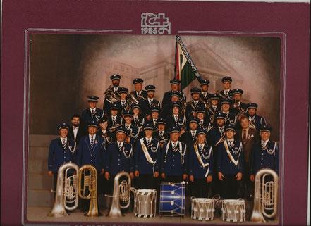 Im 1986 besuchte die Musikgesellschaft das Eidg. Musikfest in Winterthur unter der Musikalischen Leitung von Beda Hohler