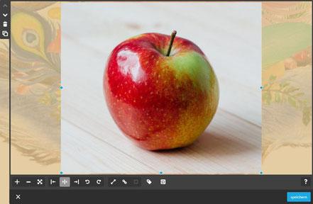 Screenshot Jimdo Creator Bild-Widget