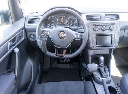 VW Caddy Handgerät MFD