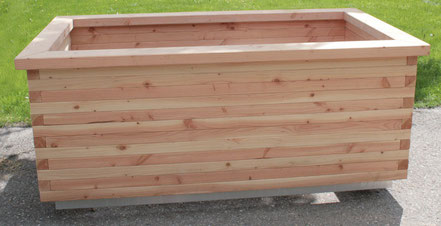 Hochbeet Bausatz aus Douglasienholz