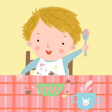 Illustration von Kinderbüchern Tina Schulte