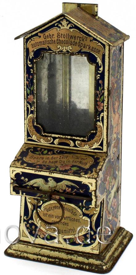 sehr schön erhaltener Schokoladenautomat von Stollwerck