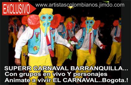 Contratar Hora loca y carnavalito en Bogota