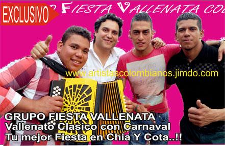 contratar parranda vallenata en Bogota