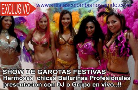 Contratar Garotas y bailarinas en Bogota