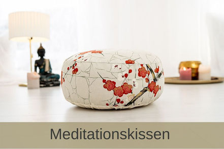 Yogakissen Meditationskissen Bolster