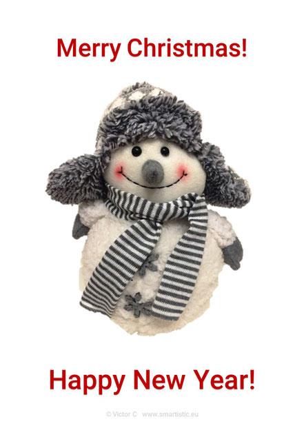 Merry Christmas! Happy New Year! (c) Victor C www.smartistic.eu   x-mas greetings   christmas card   new years greeting card   Copyright © Victor C   Copyright © www.smartistic.eu