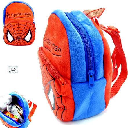 sac enfant spiderman rouge pour garçon