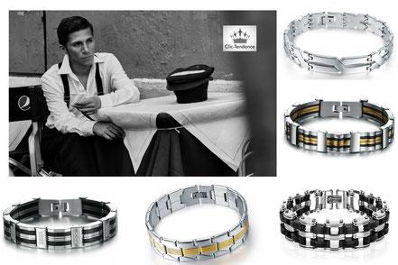 collection de bracelet-gourmette pour homme