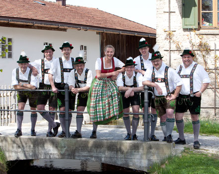 Vorstandschaft 2011 der Musikkapelle Huglfing