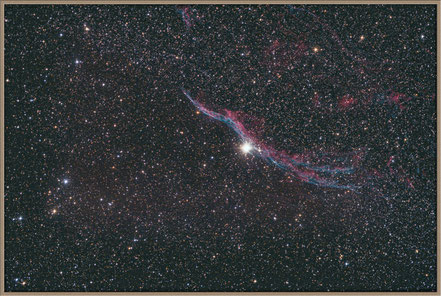 NGC 6960 - Cirrusnebel - Bearbeitungsvariante - MeixnerObservatorium