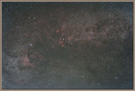 Constellation Cygnus - Deneb, Sadr Widefield   MeixnerObservatorium