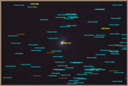 Wega - Alpha Lyrae - Objektidentifikation   MeixnerObservatorium