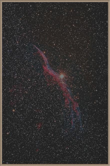 NGC 6960 - Cirrusnebel - erste Aufnahme mit Hyperstar - MeixnerObservatorium