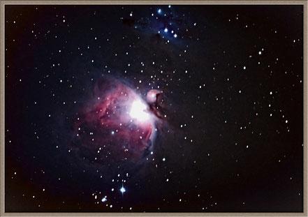 Messier 42 - unsere erste Aufnahme mit dem HyperStar System. 10 x 30 sek. mit Canon 1000 Da