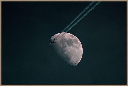 Mondflug  - Moonflight  MeixnerObservatorium