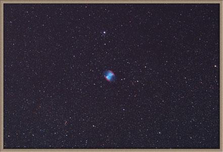 Messier 27 Hantelnebel - Bearbeitungsvariante - MeixnerObservatorium