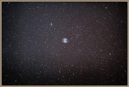 Messier 27 Hantelnebel - erste Aufnahme mit Hyperstar - MeixnerObservatorium