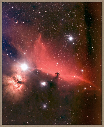 IC 434 Pferdekopfnebel - IC 434 Horsehead Nebula   MeixnerObservatorium