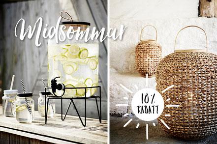 Midsommer feiern im Nordic Style