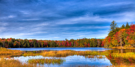 An Autumn Day on West Lake - Old Forge, NY - ADKA015